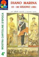 [MD2096] CPM - DIANO MARINA (IM) - 4° MOSTRA CARTOLINE D'EPOCA - Viaggiata 1991 - Imperia