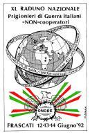 [MD2108] CPM - VOLONTA' FRASCATI 1992 - XL RADUNO NAZIONALE PRIGIONIERI DI GUERRA ITALIANI NON COOPERATORI - NV - Cartoline