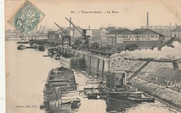 CPA IVRY SUR SEINE 94 - Le Port - Ivry Sur Seine