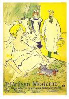 [MD2120] CPM - RIPRODUZIONE - L'ARTISAN MODERNE - HENRI DE TOULOUSE LAUTREC 1864/1901 - NV - Cartoline