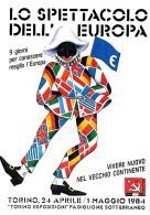 [MD2124] CPM - TORINO - TORINO ESPOSIZIONI - LO SPETTACOLO DELL'EUROPA 1984 - NV - Eventi