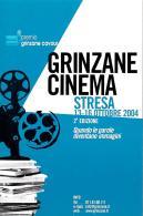 [MD2133] CPM - CINEMA - GRINZANE CINEMA - STRESA - PREMIO GRINZANE CAVOUR 2° EDIZIONE 2004 - NV - Cinema