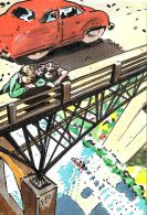 [MD2151] CPM - DISEGNO DI ELFO - DISTR. STORIESTRISCE - LINEA D'OMBRA - NV - Fumetti