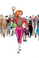 [MD2156] CPM - COMIC ART - COMK ART - LA BIONDA DI F. SAUDELLI - NV - Fumetti
