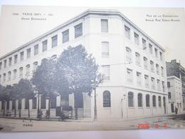 C.P.A.- Paris (75) - Usine Schneider - Rue De La Convention - Angle Rue Croix Nivert - 1918 - SUP (AX 14) - France