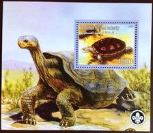 Palestine 2007 Turtles Minisheet MNH - Tortues