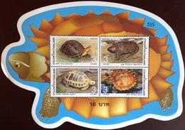 Thailand 2004 Turtles Minisheet MNH - Tartarughe