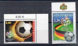 SAINT MARIN Timbre Neuf De 2006  ( Ref 5676 ) Sport - Football - Voir Descriptif - Saint-Marin