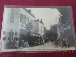 CPA - Castelmoron-sur-Lot - Route Départementale Vers La Place - Castelmoron