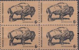 Estados Unidos 0895 ** MNH. 1970. Bloque De 4 - Nuovi