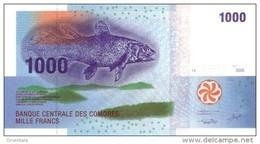 COMOROS P. 16a 1000 F 2005 UNC - Comoros