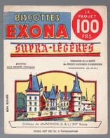 Essonnes (91)  Lot De 2 Buvards BISCOTTES EXONA (ill PESCH)   (PPP9347) - Zwieback