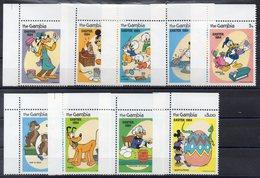 GAMBIE     Timbres Neufs ** De 1984  ( Ref 5679 ) Disney - Pâques 1984 - Gambie (1965-...)