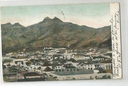 Afrique - Cap Vert Mindello S Vincente Cv Pour France Via Madeira Lisboa 1908 - 2scans - Kaapverdische Eilanden