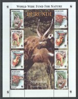E1291 BURUNDI WWF FAUNA ANIMALS SITATUNGA 1KB MNH - W.W.F.