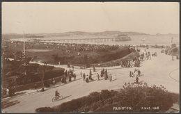 Sands Road, Paignton, Devon, 1917 - J Welch & Sons RP Postcard - Paignton