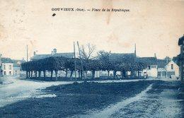 60 GOUVIEUX  PLACE DE LA REPUBLIQUE - Gouvieux