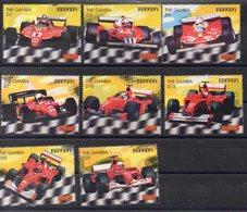 GAMBIE    Timbres Neufs ** De 2003  ( Ref 5682 ) Sport Automobile - Ferrari - Gambie (1965-...)