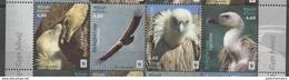 CROATIA, 2017, MNH, WWF, BIRDS, VULTURES, 4v - W.W.F.