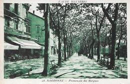NARBONNE - ( 11 ) - Promenade Des Barques - Narbonne