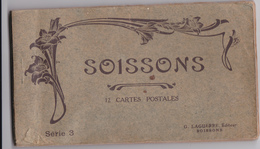 CARNET 12 CPA SOISSONS - Soissons