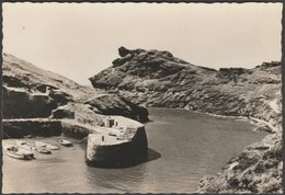 The Harbour, Boscastle, Cornwall, C.1955 - Valentine's RP Postcard - Other