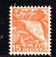 448/1500 - SVIZZERA 1936 ,  Unificato N. 292A  ***  MNH  Vedute - Suisse