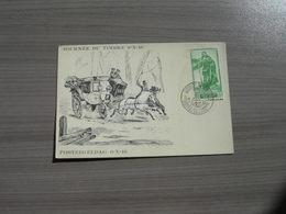 """BELG.1946 Dag Van De Postzegel,journee Du Timbre """"zeldzame Eerstedag Kaart"""" - ....-1951"""