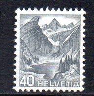 454/1500 - SVIZZERA 1936 ,  Unificato N. 297A  ***  MNH  Vedute - Suisse