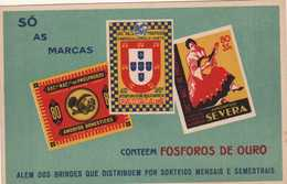Postcard Publicitários E Outros: Fósforos Pátria - Lisboa