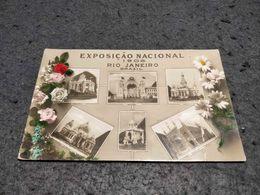 ANTIQUE PHOTO POSTCARD BRAZIL - RIO DE JANEIRO - EXPOSIÇÃO NACIONAL DE 1908 - CIRCULATED NO STAMP 1908 - Rio De Janeiro