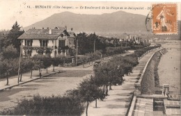 ***  64  ***  HENDAYE  Le Boulevard De La Plage Et Le Jaizquibel TTB - Hendaye