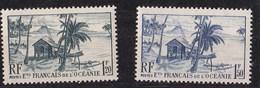 Océanie N° 189/90** - Oceania (1892-1958)