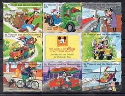 SAINT VINCENT & GRENADINES   Timbres Neufs **  De 1996  ( Ref 5690 ) Disney - St.Vincent & Grenadines