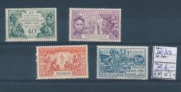 REUNION YVERT 120/123 MNH - Neufs