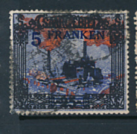 SARRE SAAR YVERT  82 USED - 1920-35 Société Des Nations