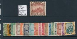 SARRE SAAR YVERT  83/100 LH - 1920-35 Société Des Nations