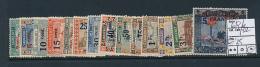 SARRE SAAR YVERT  69/82 LH - 1920-35 Société Des Nations