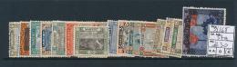 SARRE SAAR YVERT  53/68 57a LH - 1920-35 Société Des Nations