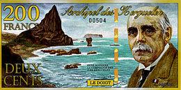 Archipel Des Kerguelen 200 Francs 5 Novembre 2010   UNC - Fictifs & Spécimens