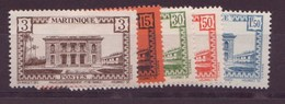 Martinique N° 191/195** - Martinique (1886-1947)