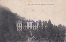 CPA De   TERRASSON (24) - L' HOPITAL  N° 14 -1917 - Francia