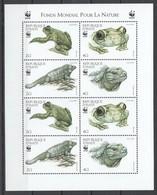 E1348 1999 D'HAITI WWF FAUNA REPTILES 1KB MNH - W.W.F.