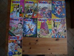 Lot 9 Numéros Revue RIGOLO - Wholesale, Bulk Lots