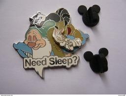 Big Pin S Disney Need Sleep Double Moule  4,5 X 4 Cm  Neuf - Disney