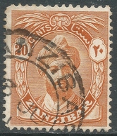 Zanzibar 1926-27 Sultan Kalif Bin Harub. 3c Used. Mult Script CA W/M SG 300 - Zanzibar (...-1963)
