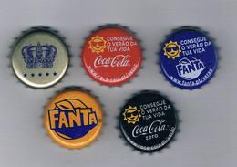 (009) - 5 Capsulas- Portugal - Soda