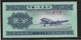 Chine - 2 Fen - Pick N°861 - NEUF - Chine