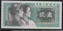 Chine - 2 Jiao - Pick N°882 - NEUF - Chine