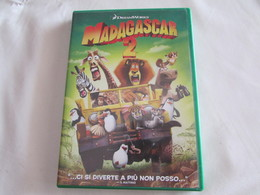 DVD - MADAGASCAR 2  - OTTIME CONDIZIONI - Cartoni Animati